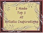 TOP 3 Artistic Inspirations
