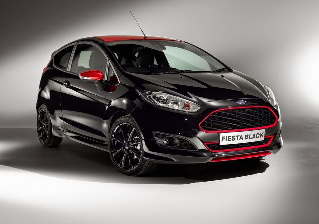 Ford Fiesta Red/Black Edition