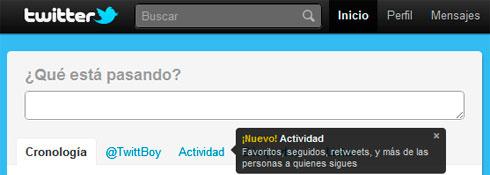 Twitter Actividad 01
