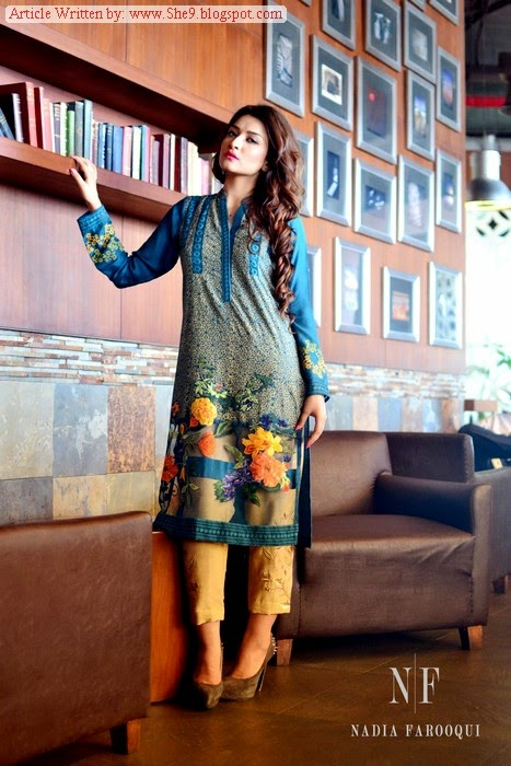 Nida Farooqui Eid Dress Collection 2014