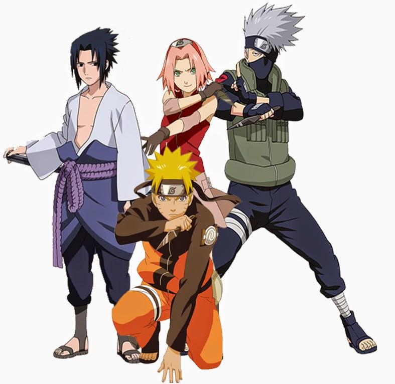 25 Koleksi Lengkap Gambar Tim 7 (Sakura, Naruto & Sasuke