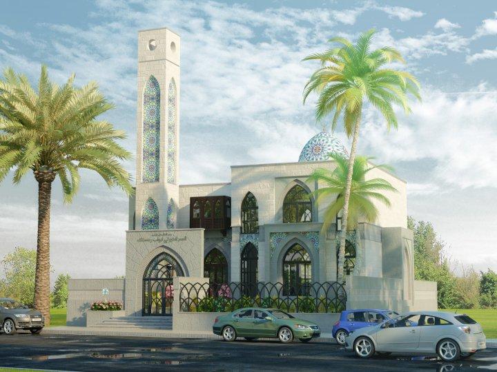 Modern Mosque Design Layout Elevation 3d Front Design Blog