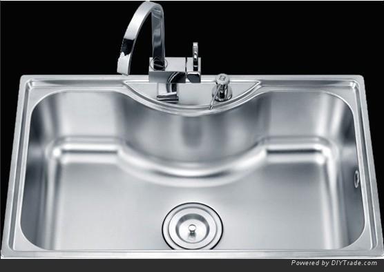 Single Basin Stainless Steel Sink : Single Compartment and Commecial Stainless Steel Single Bowl Sinks ...