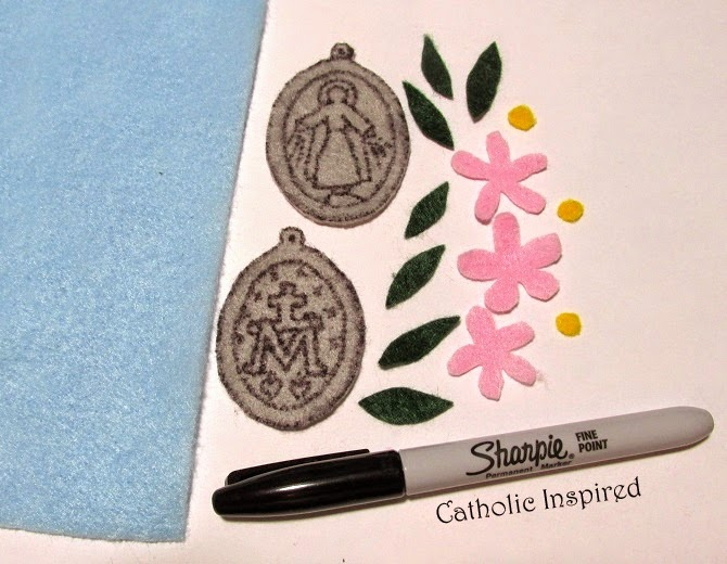 Miraculous Medal Craft