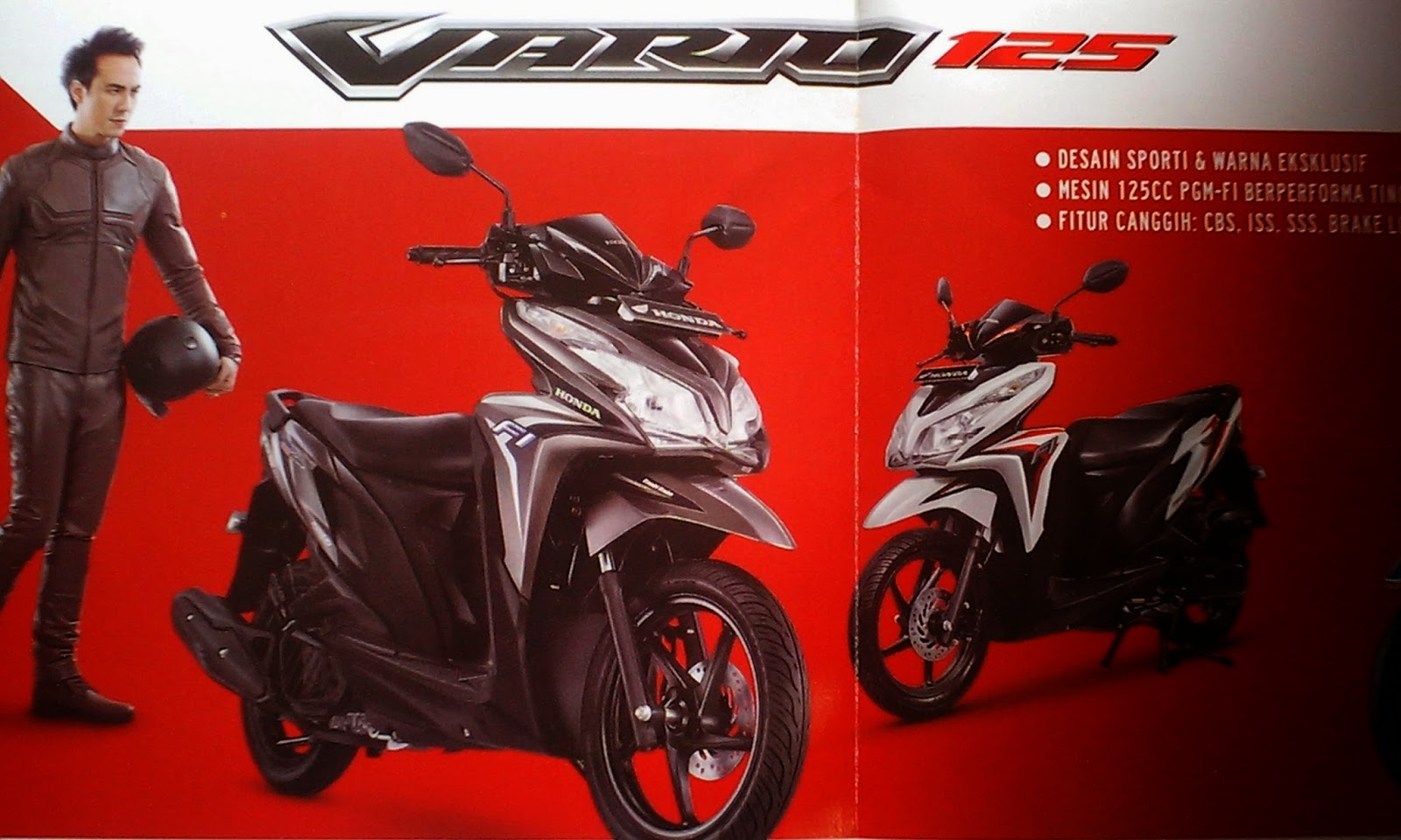 Harga Jual Kredit Honda Vario 150 Fi Motor Paling New 110 Esp Cbs Glam Red Yogyakarta Cash Amp Techno 125 Dan Iss