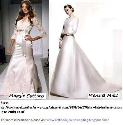 Orthodox Jewish Wedding Making Your Jewish Wedding Gown More Modest Top Questions On Build Ups
