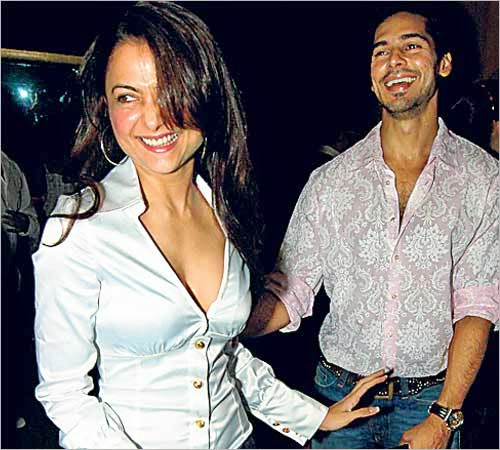 Dino Morea and Amrita Arora hot photos