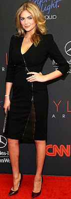 Kate Upton, LBD, Altuzarra, red carpet