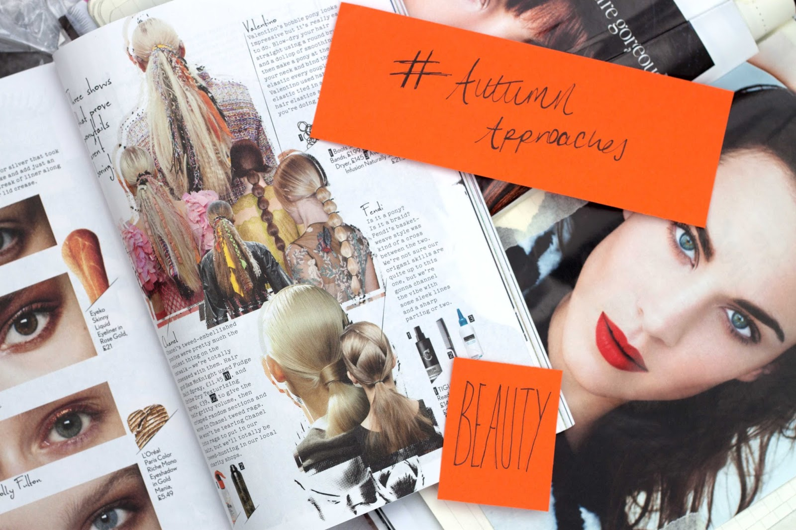 #AUTUMNAPPROACHES BEAUTY #3 - AW14 TRENDS