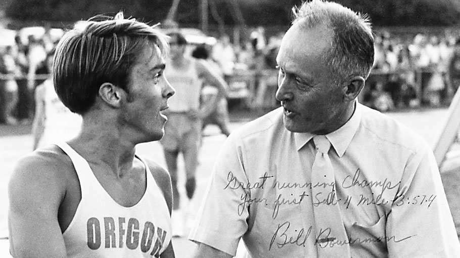 Pre and Coach Bill Bowerman