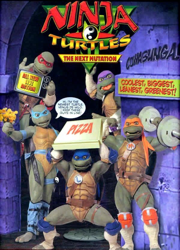 The Ninja Turtles Next Mutation Toys : Shmegalamonga superheroes two part all the rest