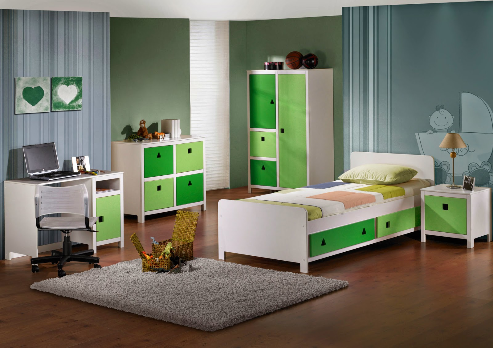Green boys bedroom ideas - Wonderfull And Amazing Cool Rooms For Boys Design Ideas Images Gallery