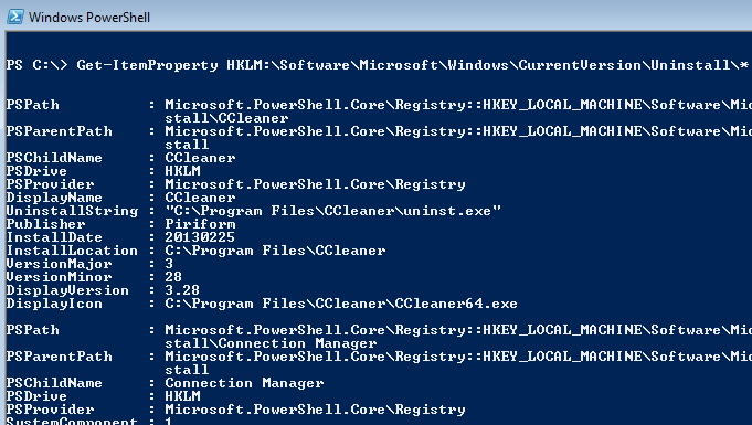 Windows: Out-GridView de PowerShell