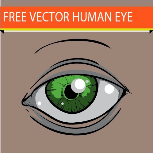 Free Download Human Eye Vector