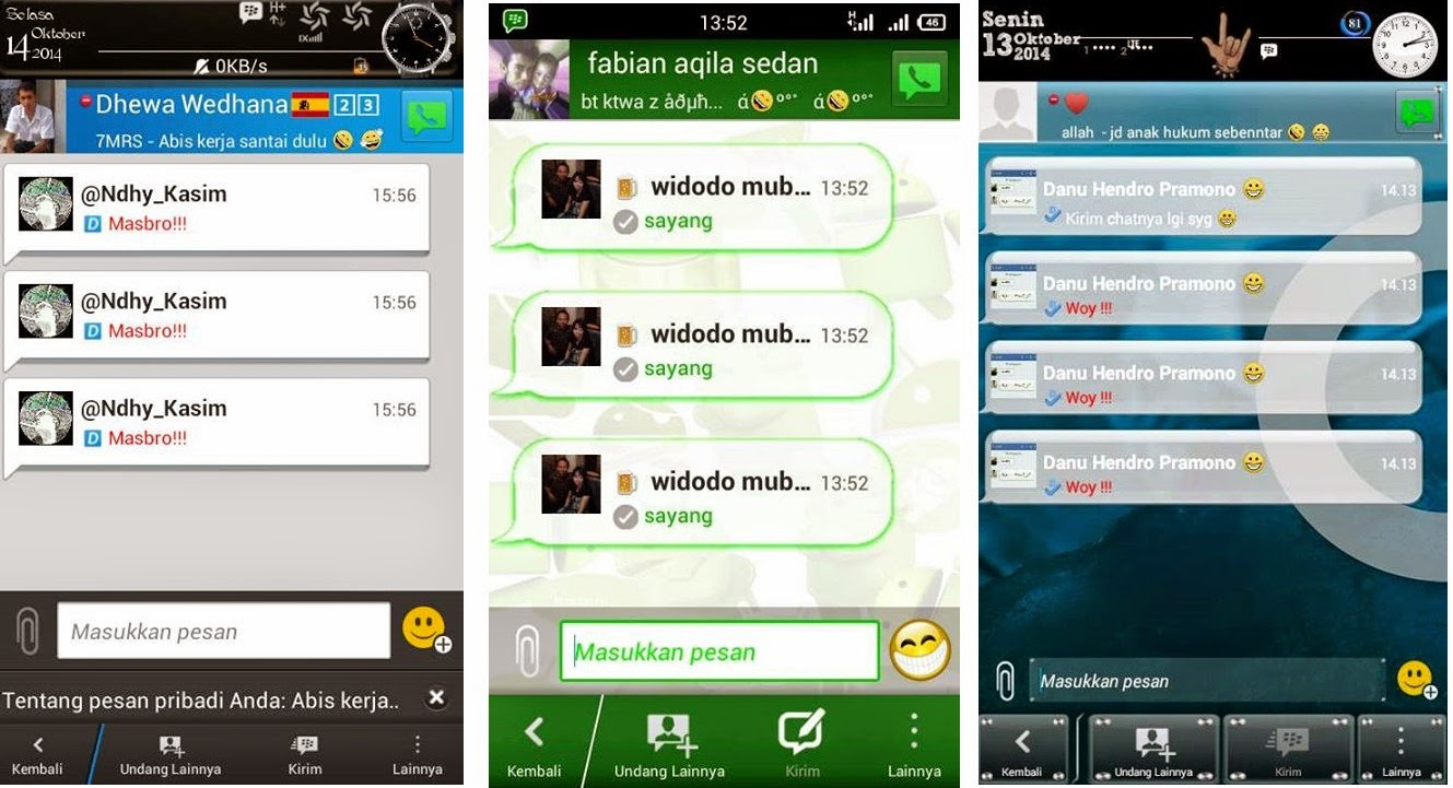 tutorial merubah text ping android
