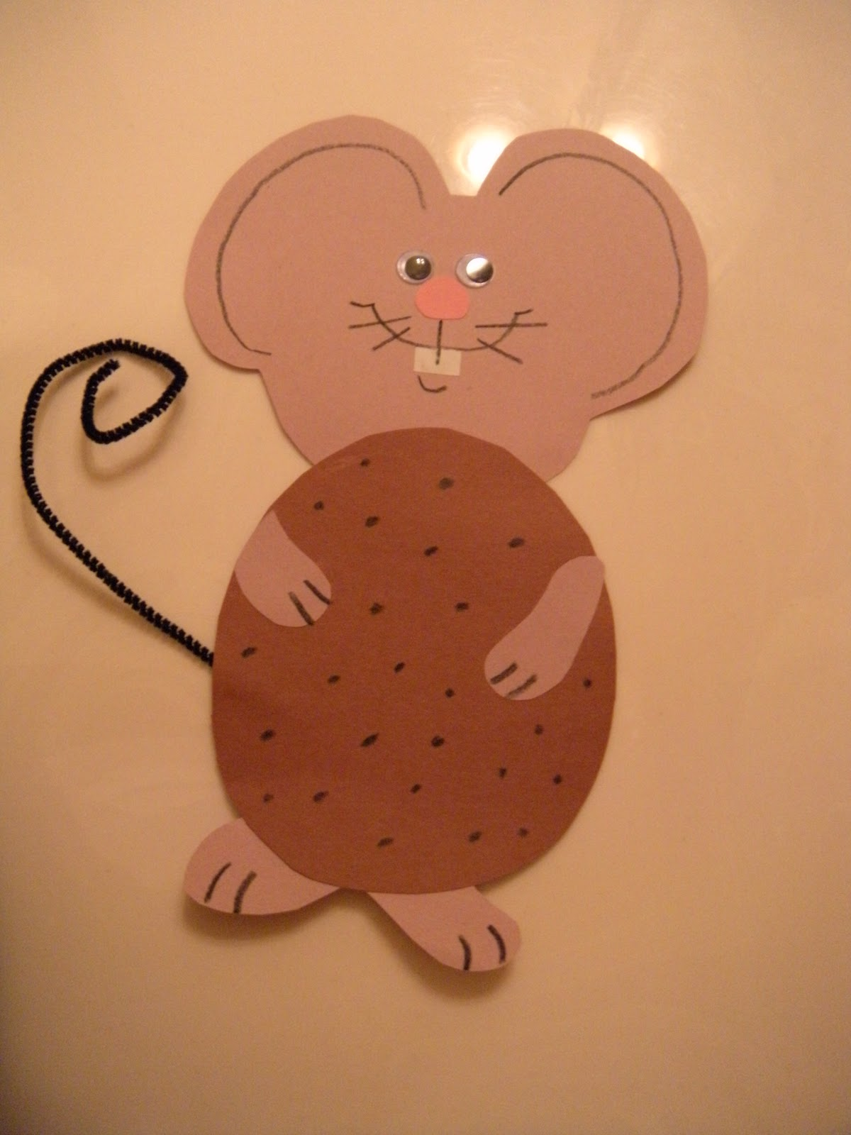 If You Give A Mouse A Cookie Craft Template