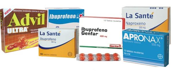 Ibuprofeno, Naproxeno