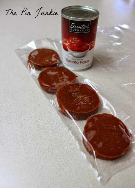 how to store leftover tomato paste