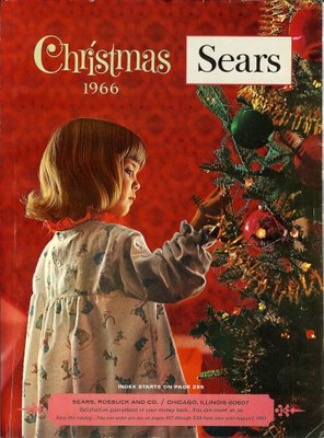 sears christmas catalog 1966 - Sears Christmas Catalog