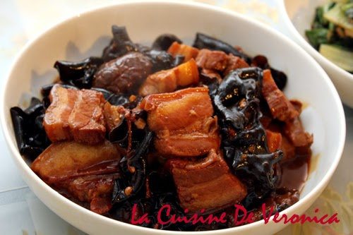 La Cuisine De Veronica,V女廚房,客家炆豬肉,南乳炆豬肉,雲耳炆豬肉