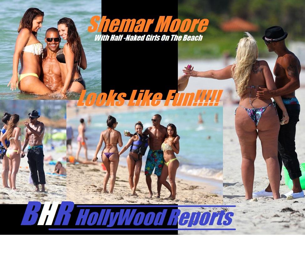 Shemar moore naked on beach, mr black magic porn
