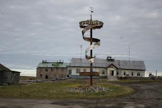 Полярная станция Амдерма. Остров Вайгач. Ненецкий автономный округ.