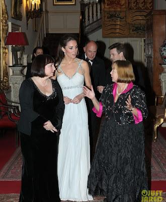 D Kate Middleton em baile de gala