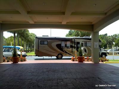 Mom's RV chariot awaits