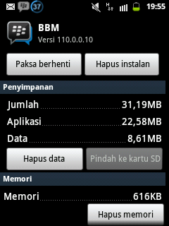 BBM for Galaxy Young GT-S5360