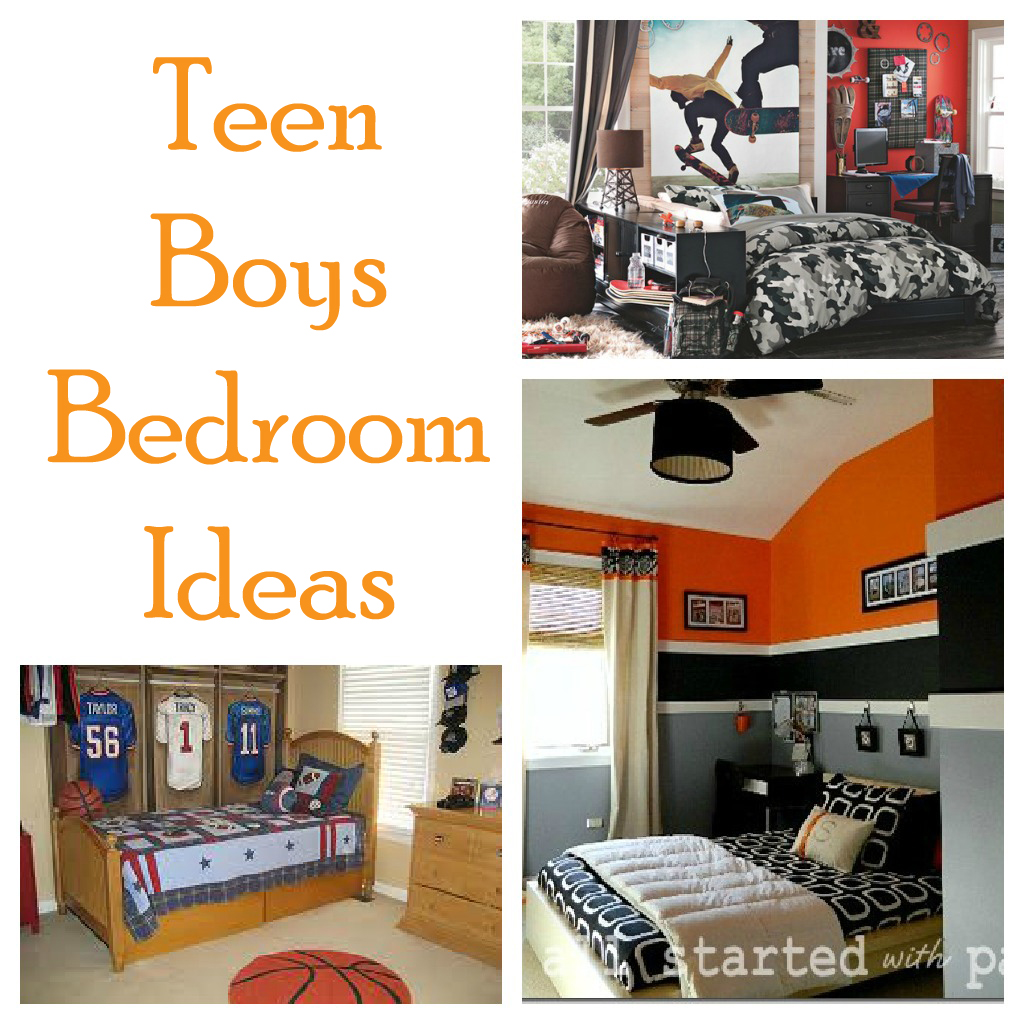 Teen boy bedroom ideas second chance to dream - Teen boys bedroom decorating ideas ...