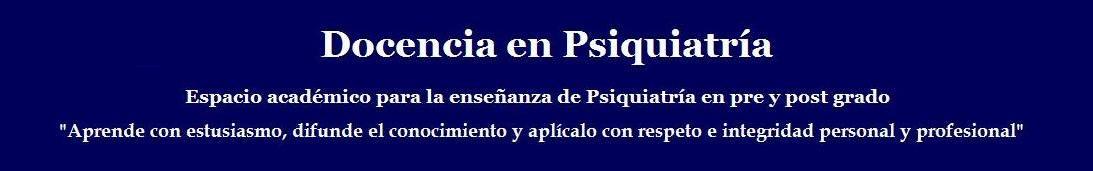 Docencia en Psiquiatría