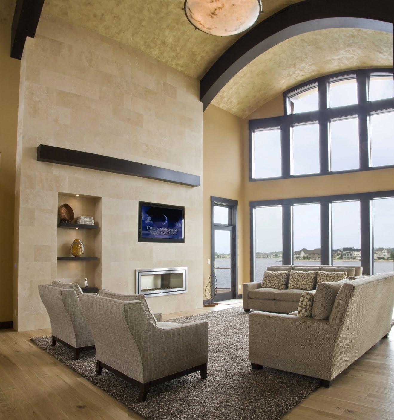 Best interior design house for Multi color living room ideas