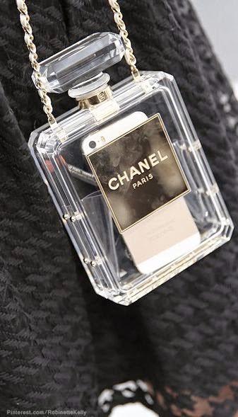 Malas, sacos, clutch - frasco de perfume