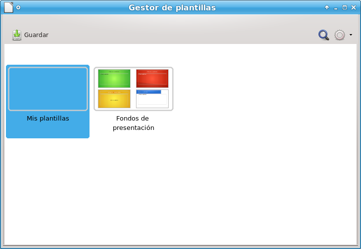 Guardar como plantilla en LIbre Office 4.0 Linux