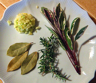 Plate of Fresh Herbs
