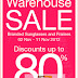 Better Vision Warehouse Sale up to 80% off: 2-11 NOV 2012
