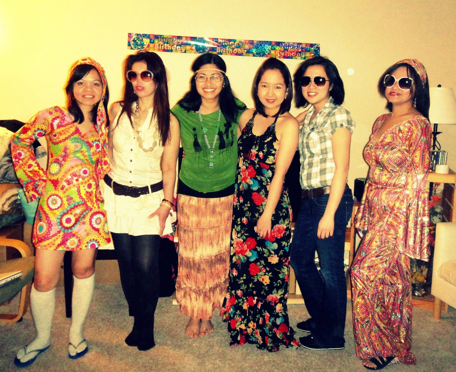 70s themed adult party