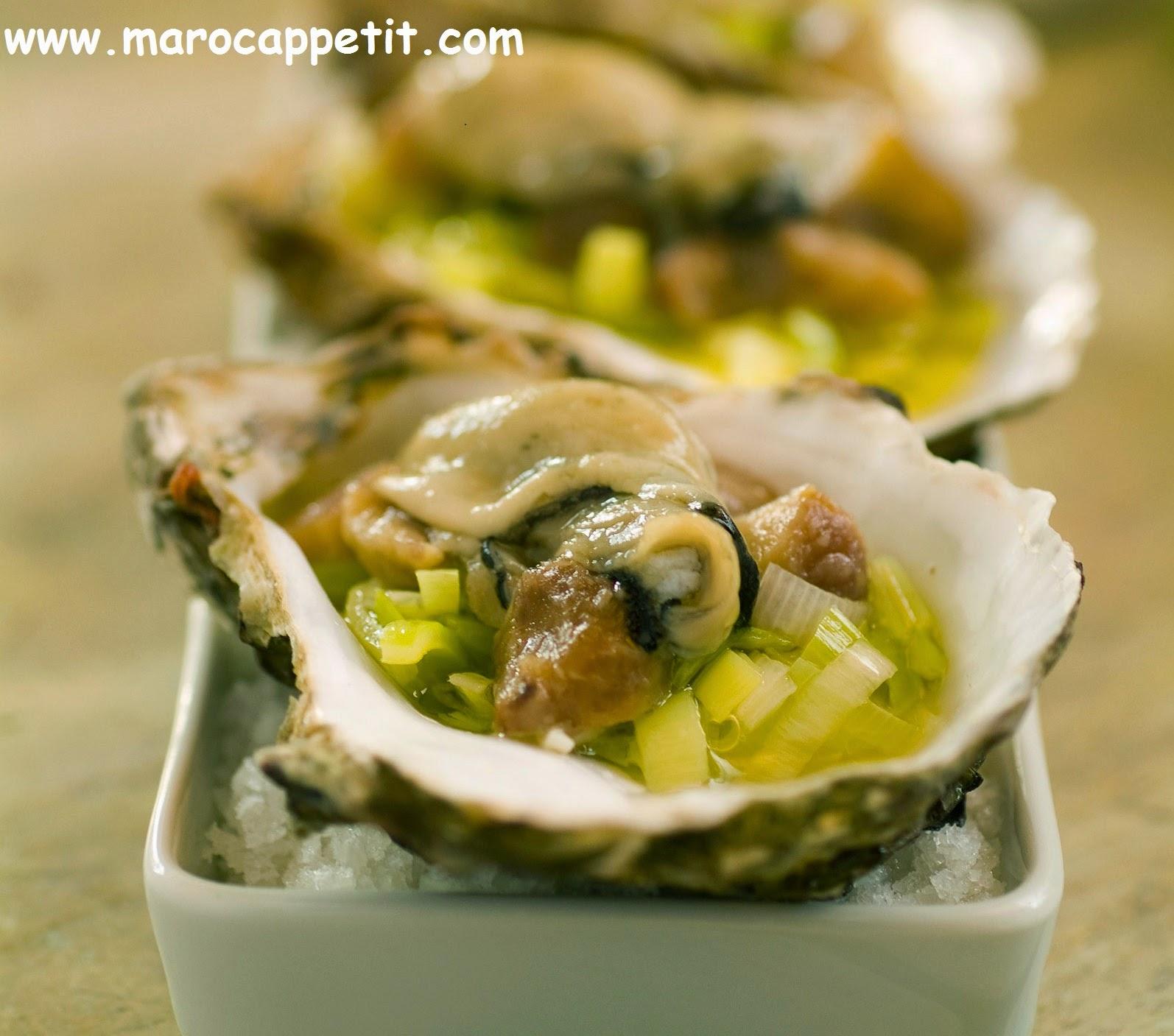 Huitres à la provençale | Oysters Provencal