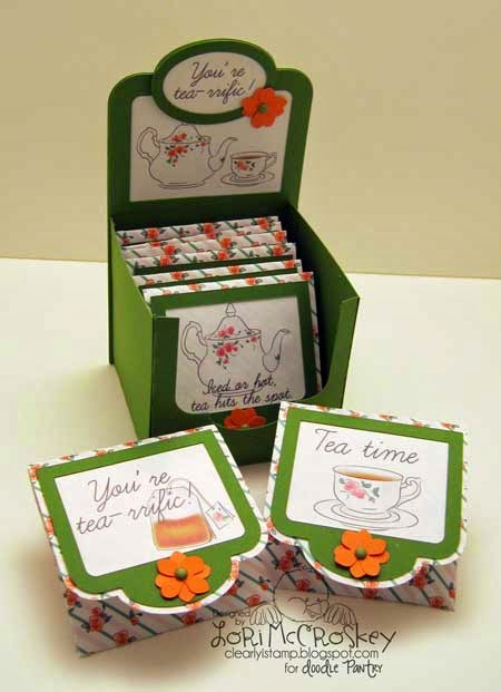 Clearly iStamp: Tea Bag Gift Set - or why not Scripture pouches?