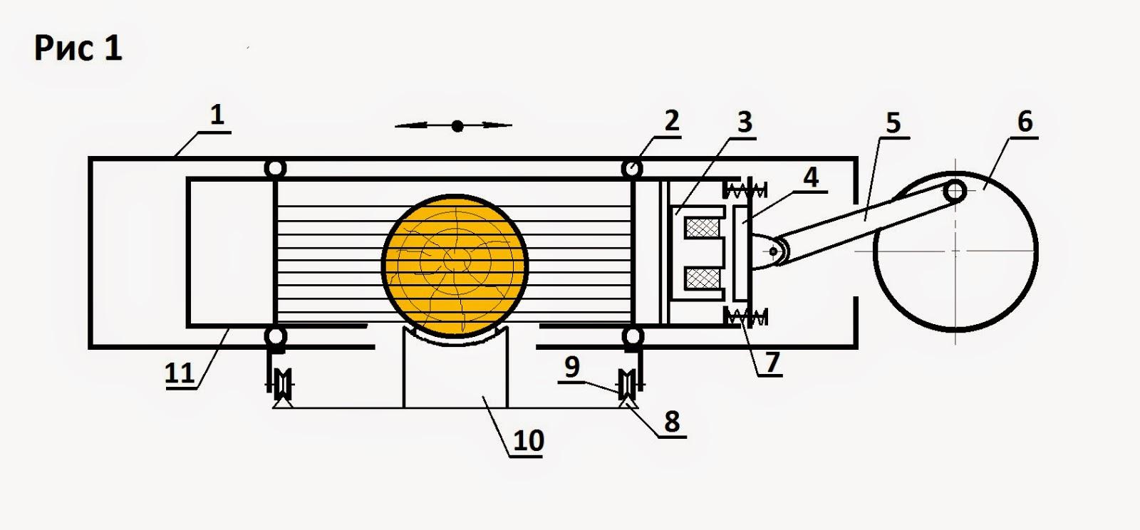 рабочая схема генератора свободной энергии 2013