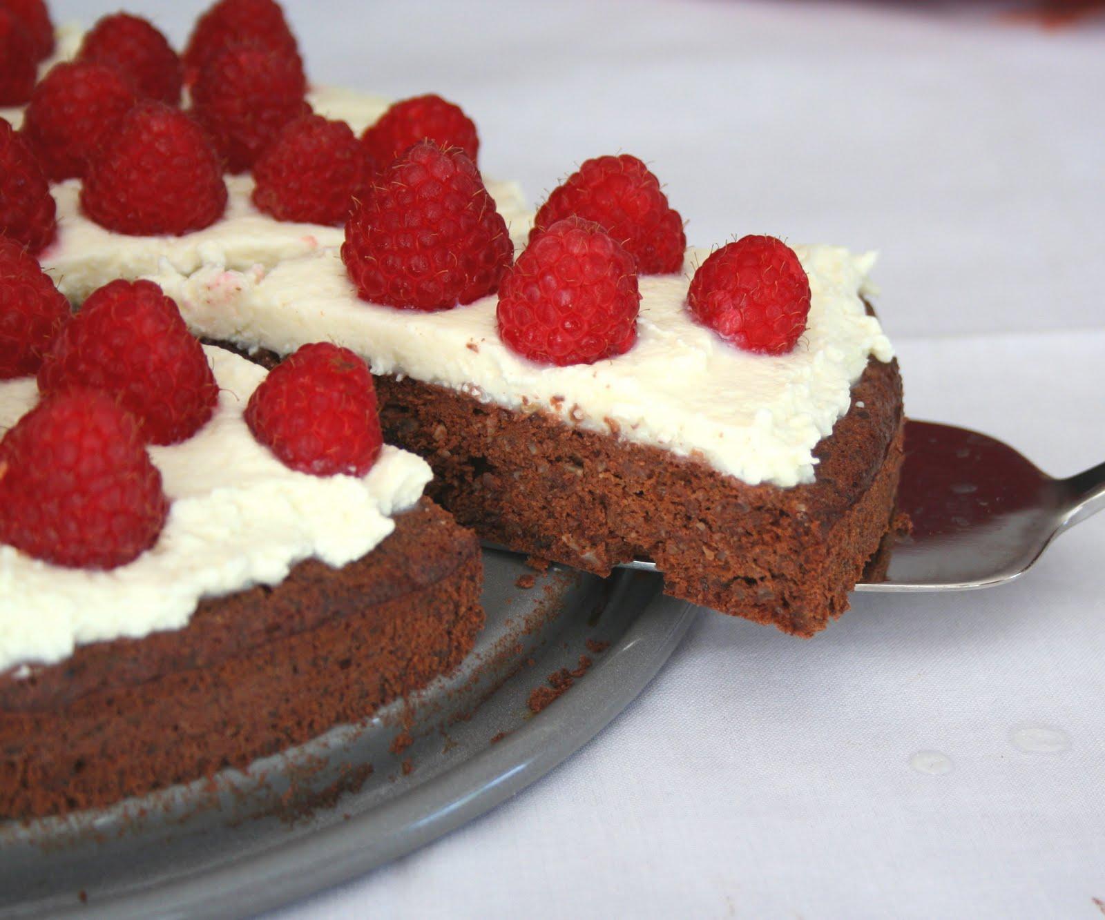 Chocolate-Raspberry Panini With Mascarpone Recipe — Dishmaps