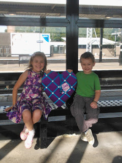 Big Boy and Top Ender at The Train Station