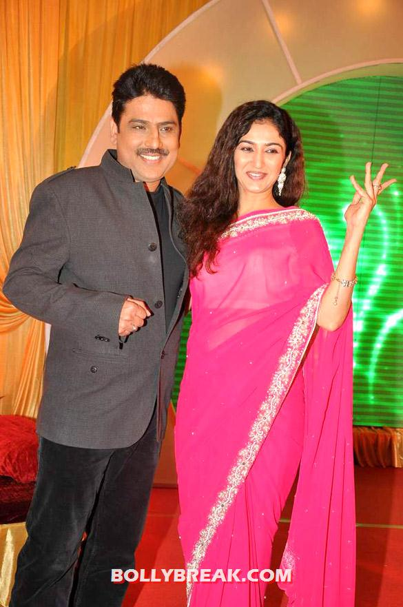 Shailesh Lodha with Waah Waah Kya Baat Hai actress - SAB TV launches 'Waah Waah Kya Baat Hai' show