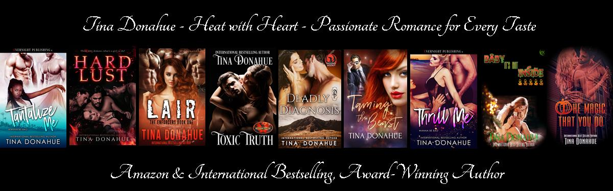 Tina Donahue Books - Heat with Heart