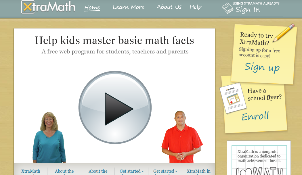 Mrs. Crofts\' Classroom: Online Math Facts Practice!