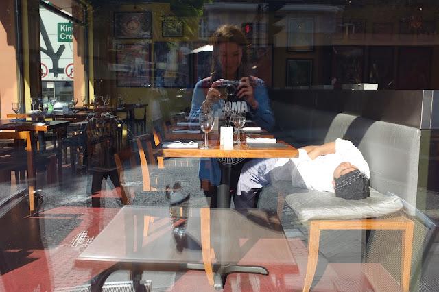 Camden London nap time man