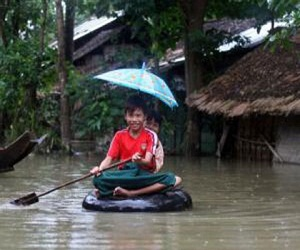 More than 68,000 people displaced due to flooding in Myanmar