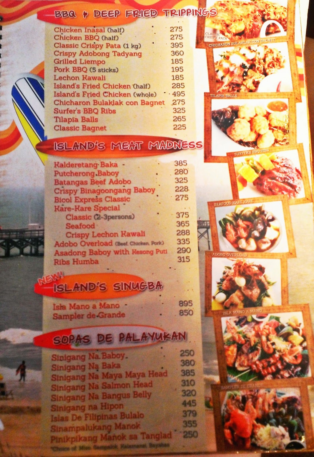 Seafood Island Restaurant Branches