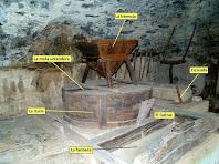Interior de l'obrador del Molí del Menut