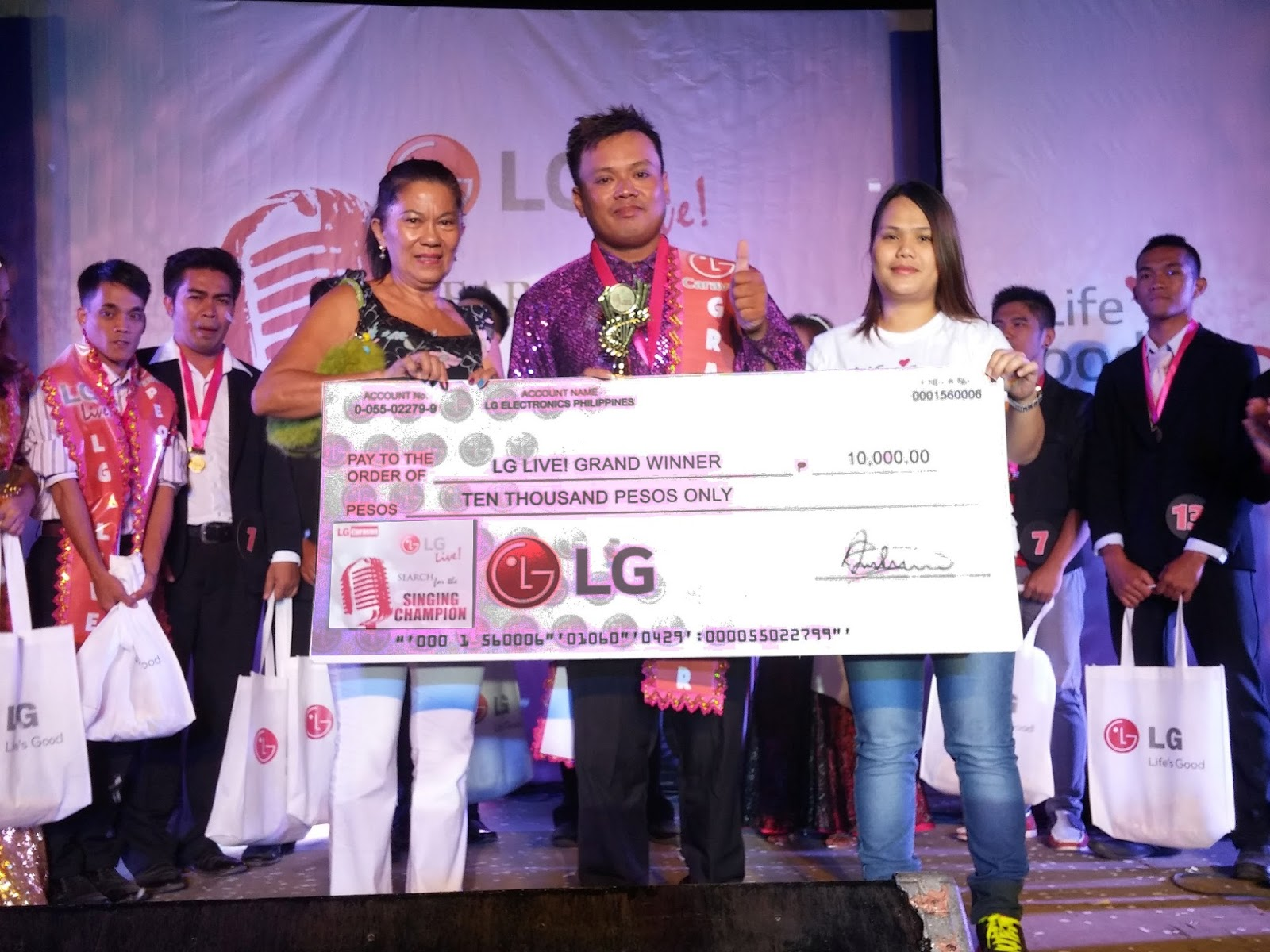LG Live Singing Champion